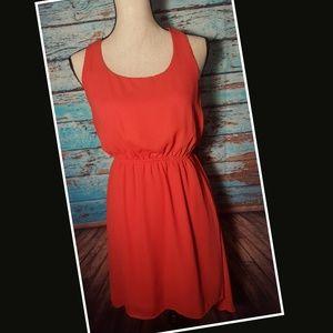 Coral Needle & Thread Dress - Size Medium